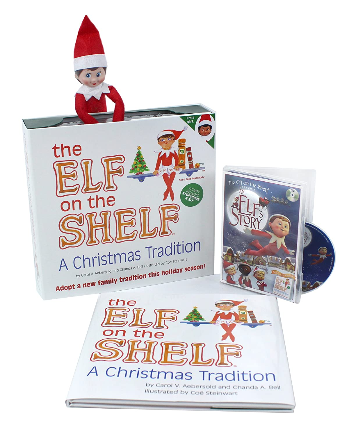 Amazon.com: The Elf on the Shelf A Christmas Tradition (Blue-Eyed ...