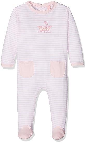 losan 81W-P001AD, Pelele para Dormir para Bebés, (Rosa Claro),