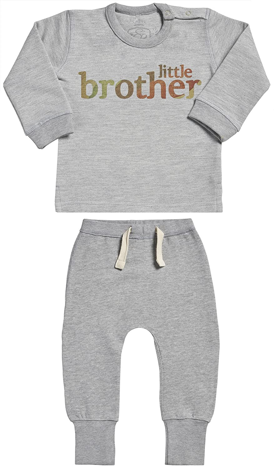 Little Brother Baby Outfit Baby Sweater /& Baby Joggers Baby Gift Set Baby Clothing Outfit SR