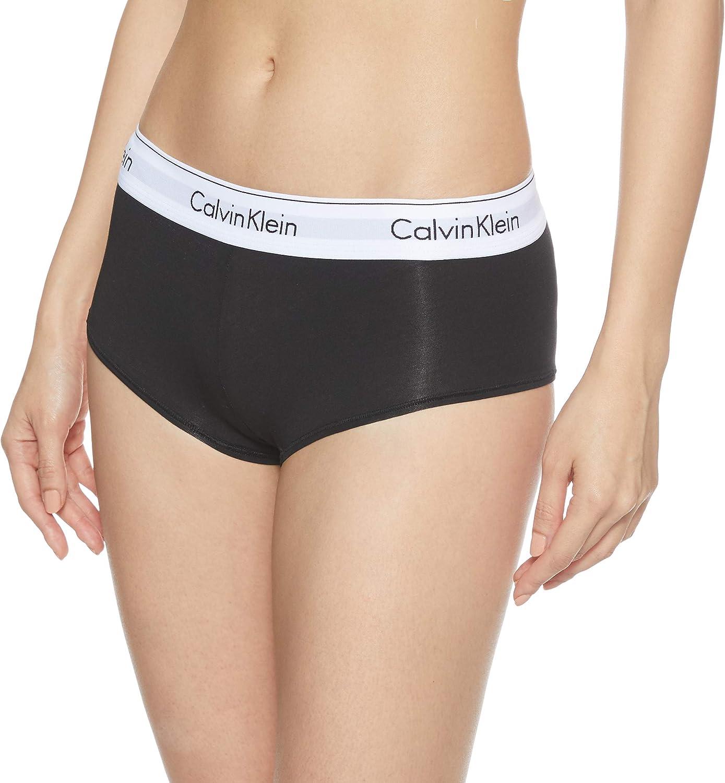 Calvin Klein Modern Cotton - Short Ropa Interior, Negro 001, XS ...