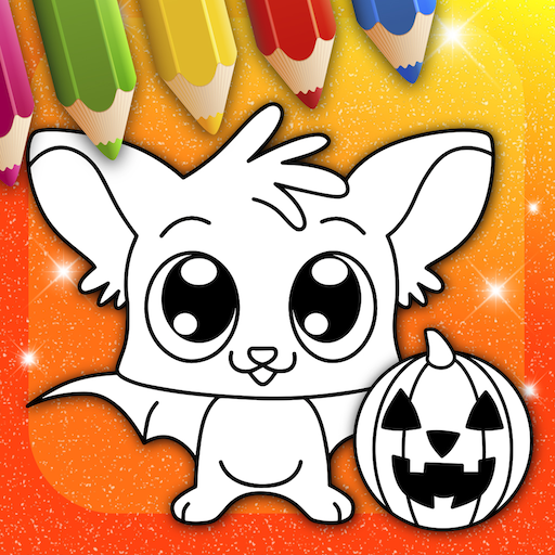 Halloween Colouring Pages Online (Happy Halloween Coloring Book)