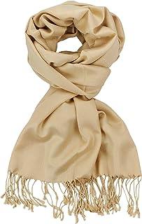 NYFASHION101 Women's Fabulous Large Soft Viscose Scarf Shawl Wrap, Black #1