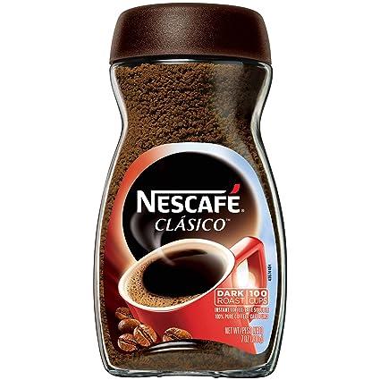 Nescafe Clasico - Cafetera instantánea (6 unidades): Amazon ...