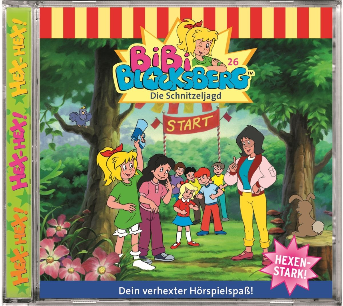 Folge 26: Die Schnitzeljagd - Bibi Blocksberg: Amazon.de: Musik