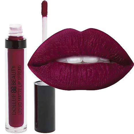 Buy Joy Dollup Beauty Liquid Matte Lipstick Color Joy Burgundy
