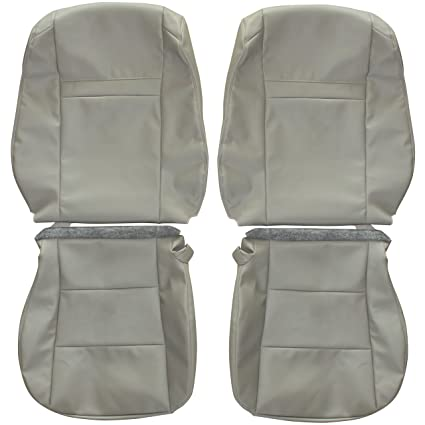 2012 2015 Toyota Camry Genuine Leather Seats Cover Custom Made FrontTan