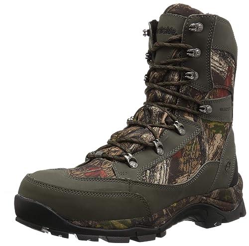 Northside Mens Buckman 800 Backpacking Boot, Dark Olive, 7 Medium US