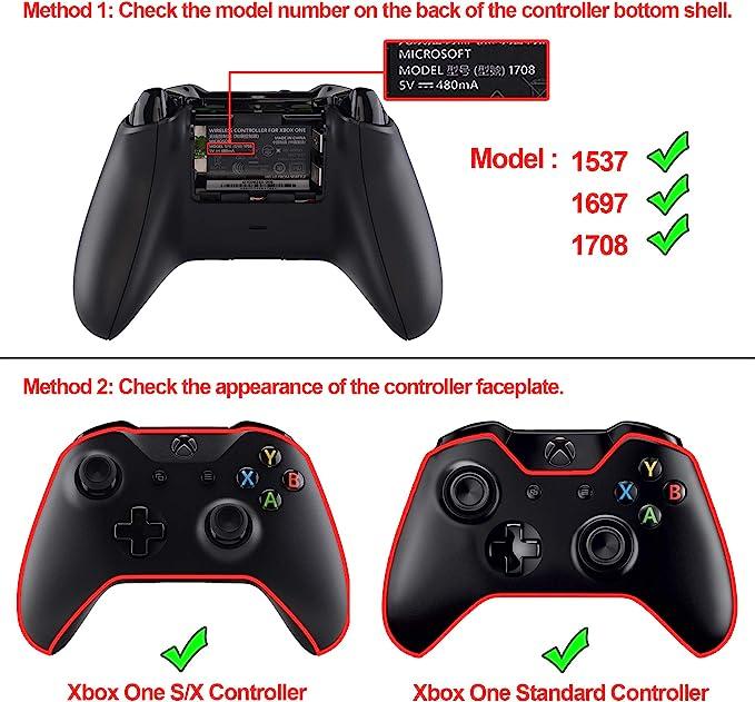 eXtremeRate Botones para Mando Xbox one LED Multicolores Botón de ...