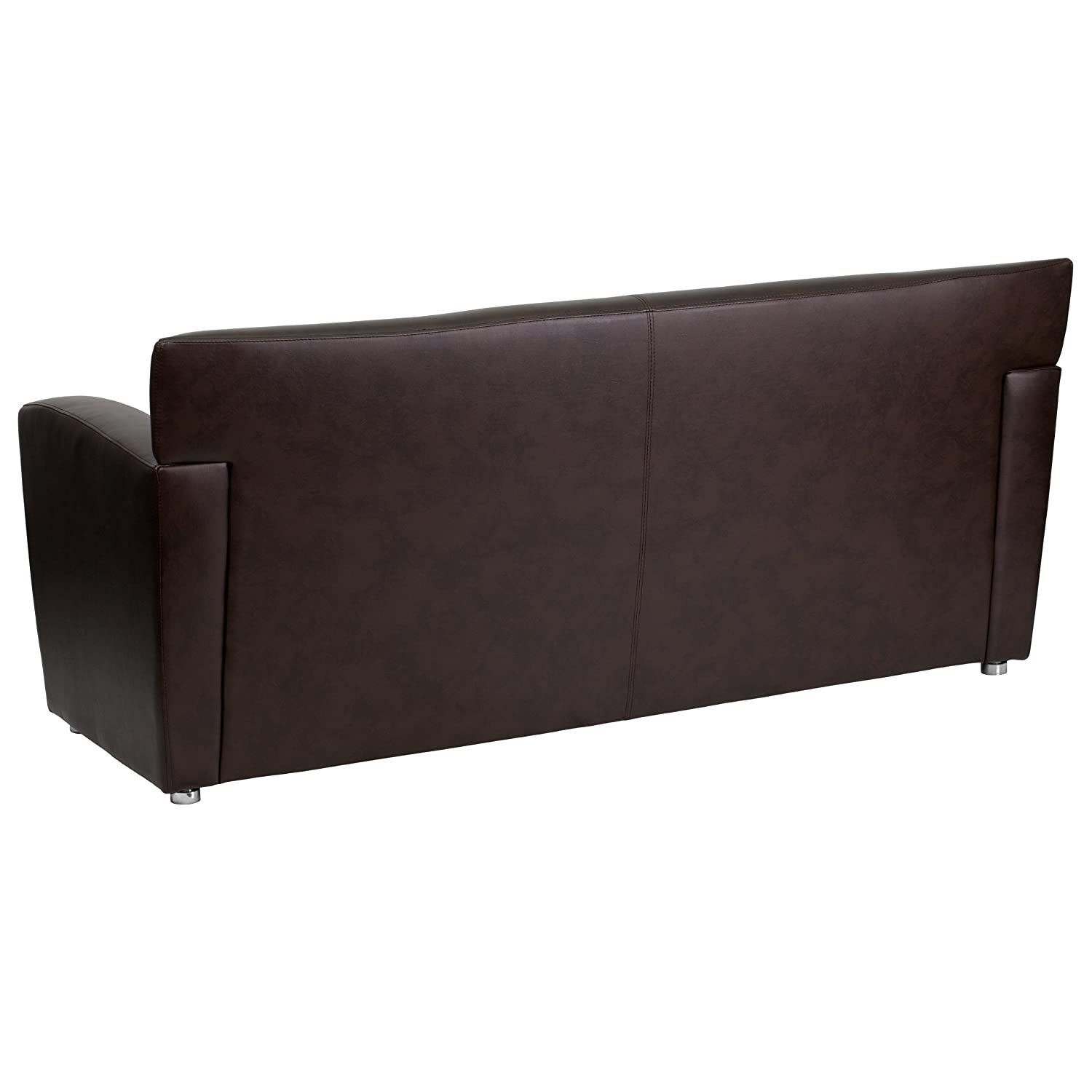Flash Furniture HERCULES Majesty Series Brown Leather Sofa
