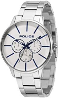 fcfd9ad13381 Police Mens Multi dial Quartz Watch with Stainless Steel Strap 14999JS 04M