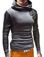 MT Styles Kapuzenpullover Hoodie Collegejacke Pullover S-139