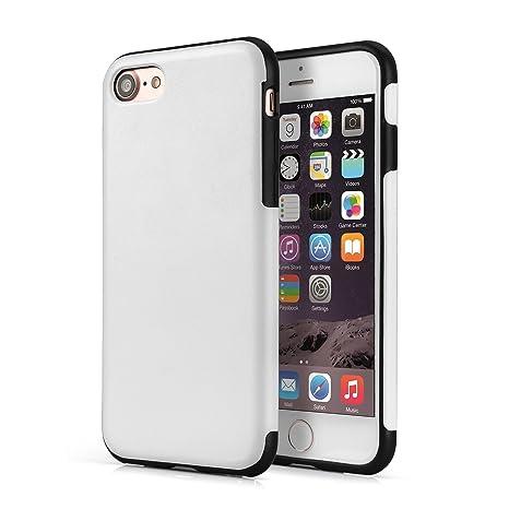 VAPIAO iphone7 de Piel Case de Nevera a Dorado Blanco iPhone 8 ...
