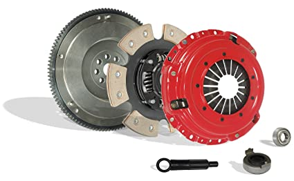 Clutch With Fywheel Kit Works With Honda Civic Si Del Sol Cr-V Gs Lx