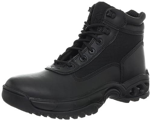 aba8892299c Ridge Footwear Men's Mid Side Zip Boot