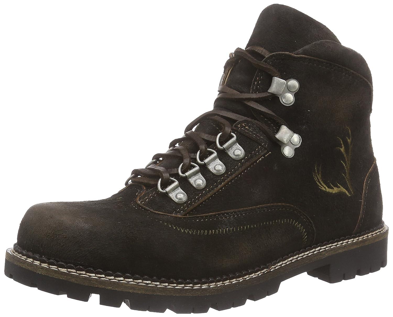 TrachtenRebell Garmisch Mens Boots brun (Sand) 8 UK