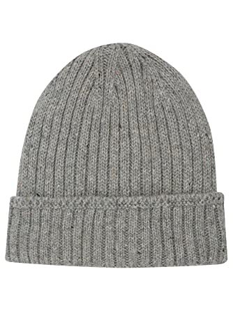 Thinsulate Mens Lined Ribbed Knit Winter Cosy Warm Knitted Beanie Hat Grey  One Size  Amazon.co.uk  Clothing ab8f83c4001