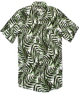 6b4ba82e52 American Eagle Outfitters Mens Short Sleeve Oxford Button-Down Shirt ...