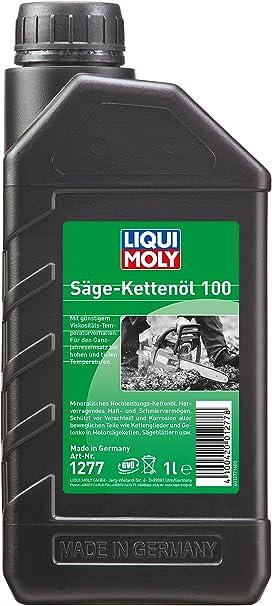 Liqui Moly 1277 Aceite para Cadenas de Motosierra 100, 1 L: Amazon.es: Coche y moto