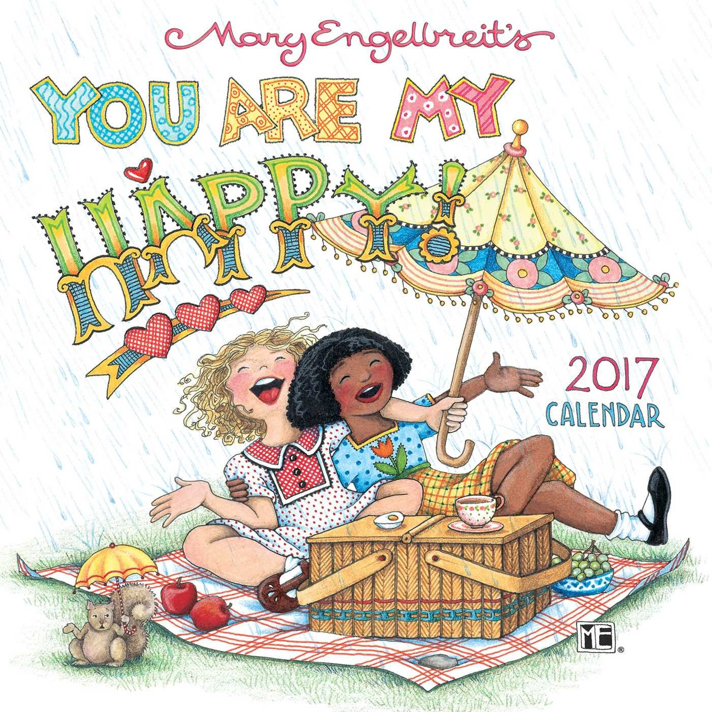 Mary Engelbreit 2017 Mini Calendar product image
