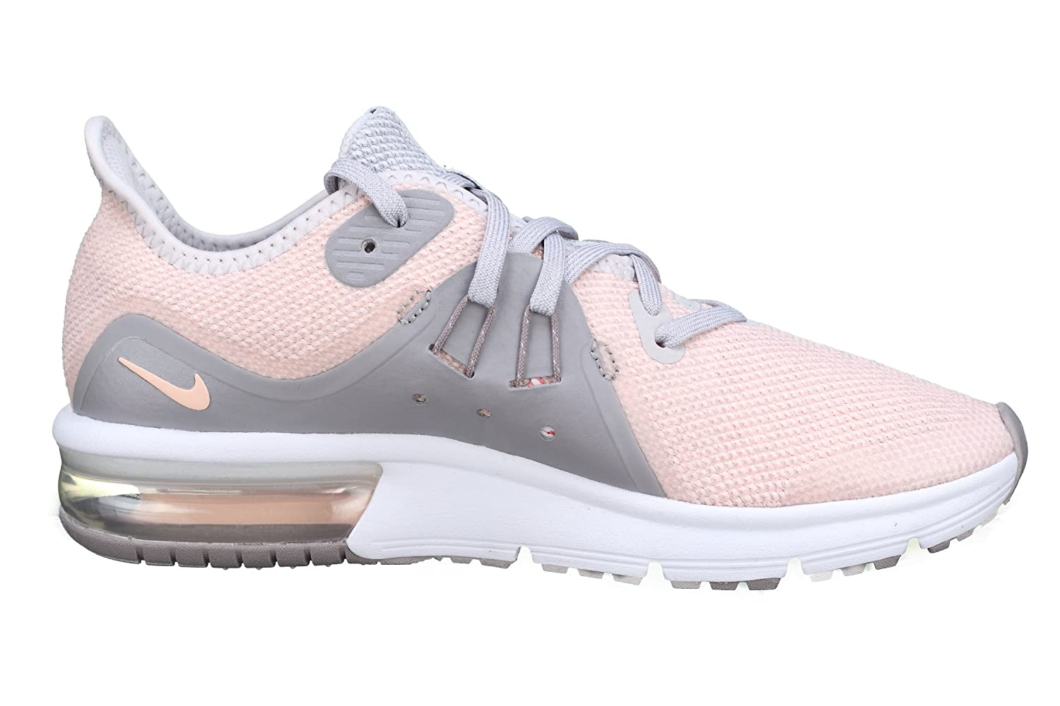 official photos 88ae2 69e49 Nike Basket Fille Air Max Sequent 3 GS 922885-004 RoseGris