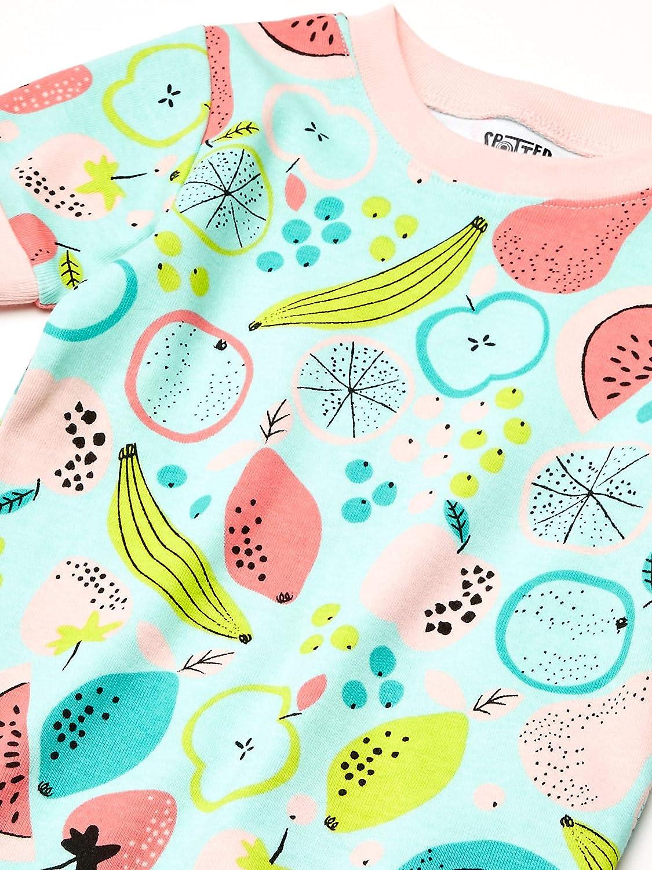 Spotted Zebra Unisex Kinder 3-Piece Snug-fit Cotton Pajama Set