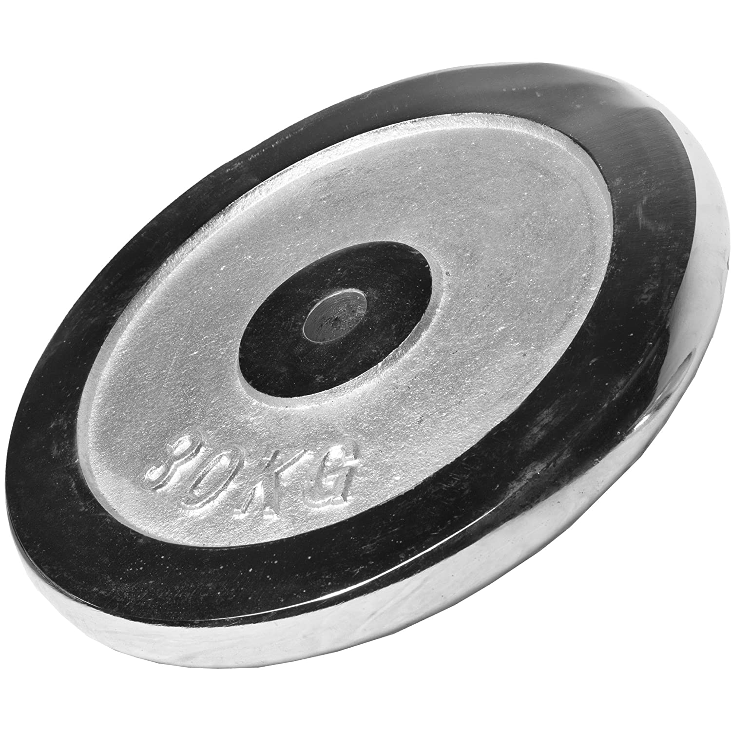 Gorilla Sports Chrome Weight Plate 0.5KG - 30KG