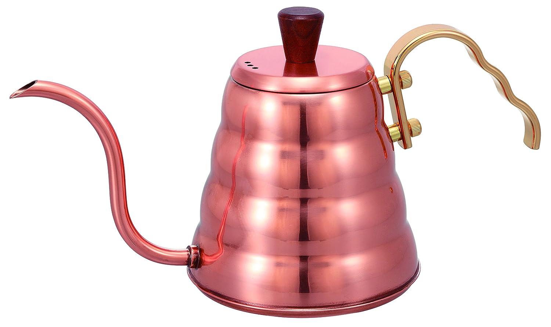 Hario Drip bouilloire en acier inoxydable, cuivré, Small VKB-90CP