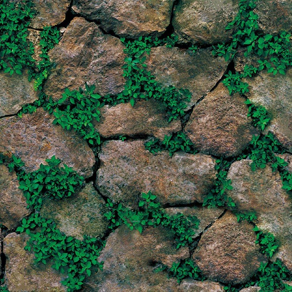Diseñ o Creativo Wallpaper 3D Efecto Decoració n Del Hogar Ladrillo Roca Diseñ o Es Mejoras Para el Hogar Y Embellecimiento De La Pared Buenos Productos 45x200 cm (1, Tabletas de roca) NHSUNRAY