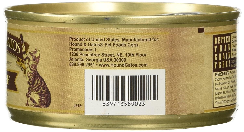 Perro y Gatos Gato en Lata de Comida para Mascotas Alimentos: Amazon.es: Productos para mascotas