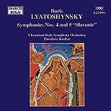 Lyatoshynsky: Symphonies Nos. 4 And 5