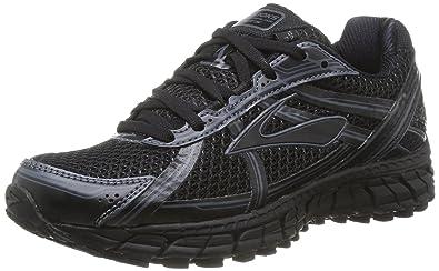Brooks Adrenaline GTS 15 W - Chaussures de Course Femme, Multicolore (Black/ Anthracite