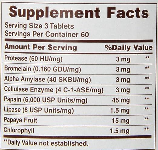 Amazon.com: American Salud Probiotico enzima Plus, Super ...