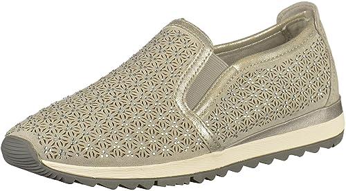 Jana 88 24704 20 204 - Mocasines de tela para mujer, color Gris, talla 40: Amazon.es: Zapatos y complementos