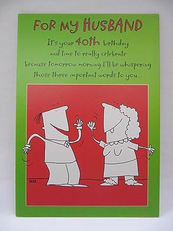 Birthday Cards Family Hallmark Funny Die 3 Wichtigen Worte Mann Zum 40 Geburtstag Grusskarte