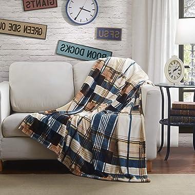 Tache Tartan Plaid Super Soft Warm Winter Cabin Throw Blanket 50 x60