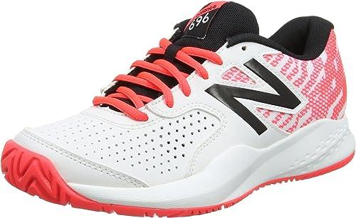 New Balance Wch696v3, Zapatillas de Tenis para Mujer ...