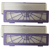 (2) Neato BotVac High Performance Allergen Filters, 2 Pack. Fits 945-0123