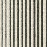 Waverly Timeless Ticking Black Fabric By The Yard