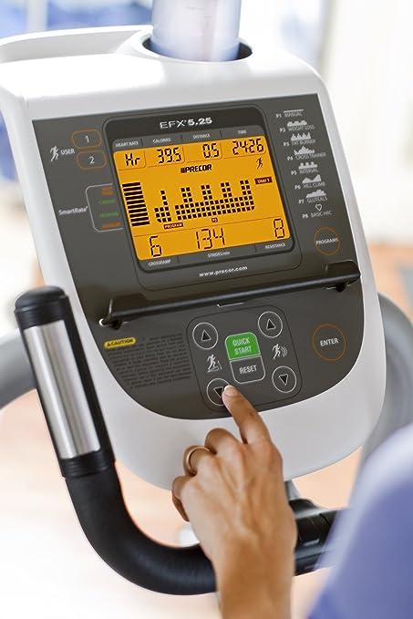 Precor EFX 5.25 Elliptical Fitness Crosstrainer (última generación): Amazon.es: Deportes y aire libre