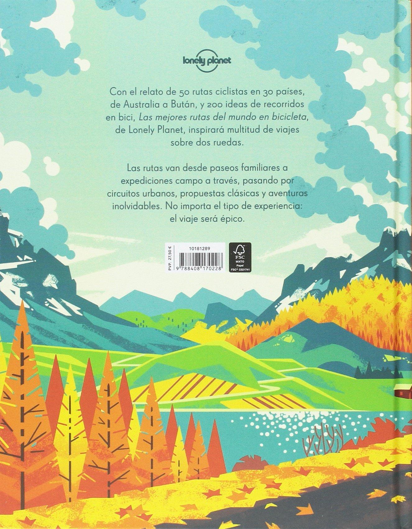 Las mejores rutas del mundo en bicicleta Viaje y aventura: Amazon ...