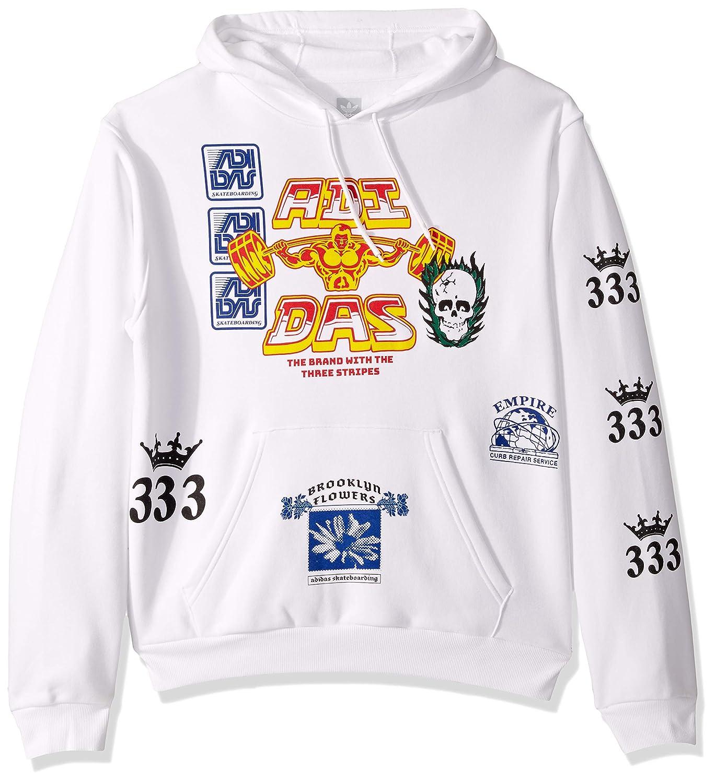 adidas Originals Herren Skate Test Print Hooded Sweatshirt