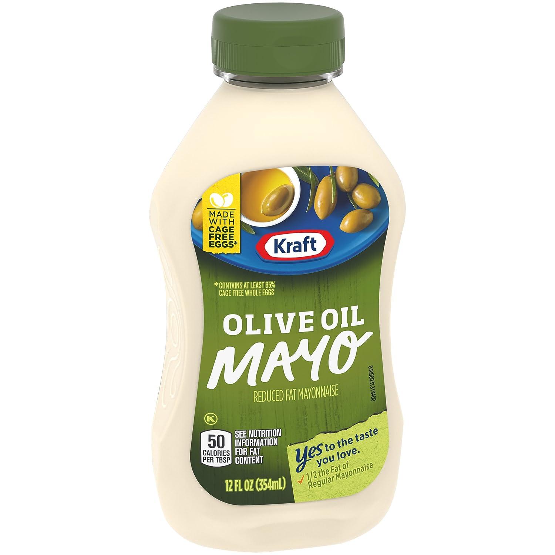 Kraft Mayo with Olive Oil (12 oz Bottle)