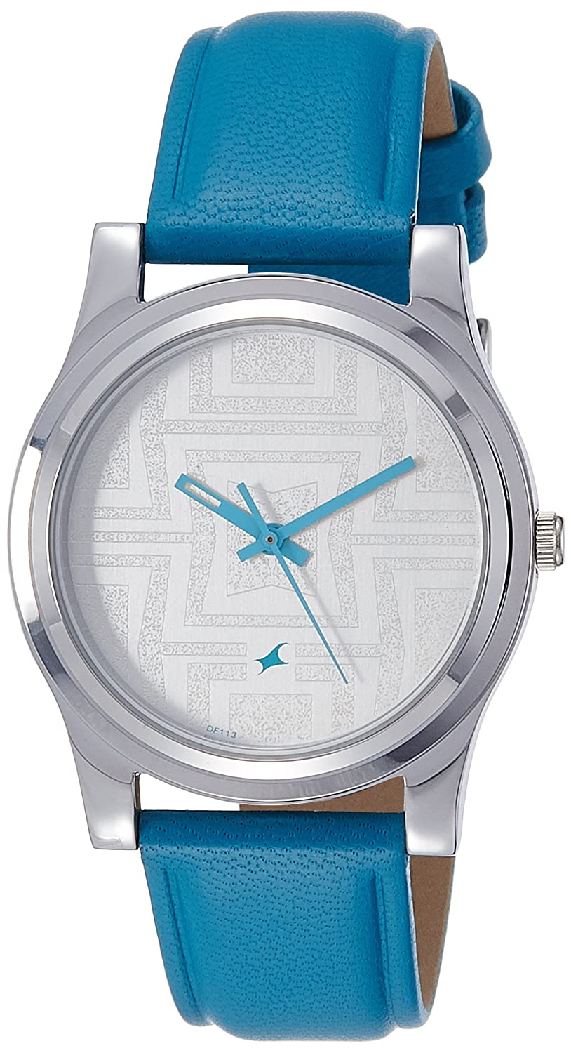 Buy Fastrack Analog Silver Dial Women\'s Watch -NK6046SL04 Online at ...