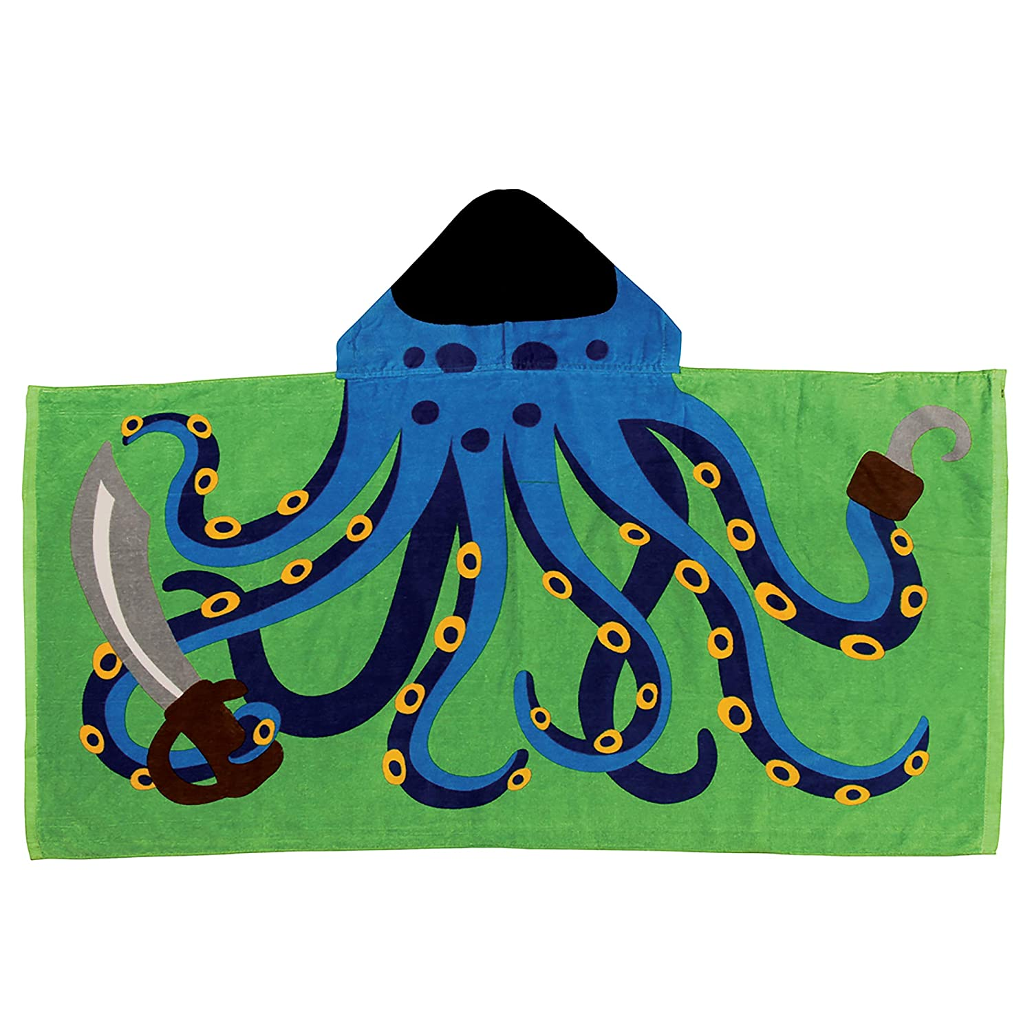 Stephen Joseph Hooded Towel, Octopus Ravel Saint-Saens Liszt SJ100448A