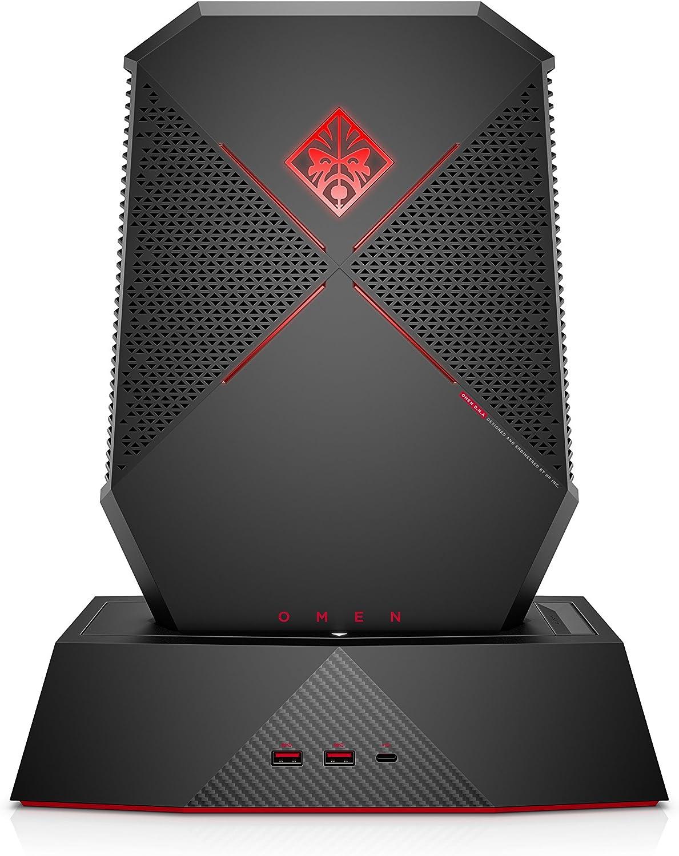 OMEN X by HP Compact Gaming Desktop Computer, Intel Core i7-7820HK, NVIDIA GeForce GTX 1080, 16GB RAM, 1TB SSD, Windows 10 P1000-010, Black