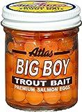 Atlas 203 Big Boy Salmon Eggs, Orange