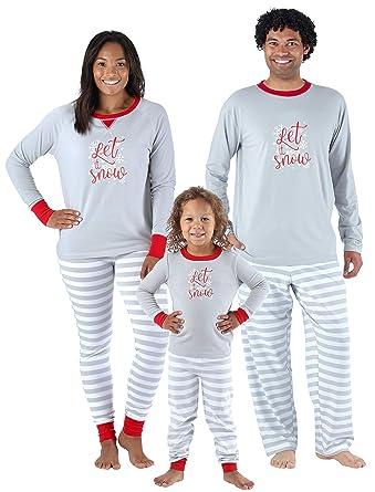 4078e82930 Sleepyheads Christmas Family Matching Winter Snowflake Pyjama PJ Sets   Amazon.co.uk  Clothing