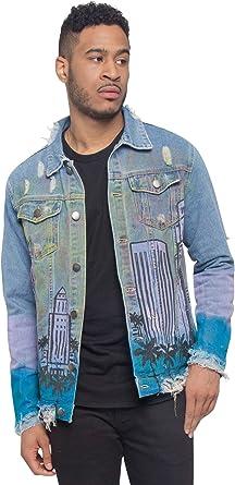 Victorious Distressed Denim Jacket