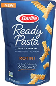 Barilla, Pasta Rotini Ready To Eat, 8.5 Ounce
