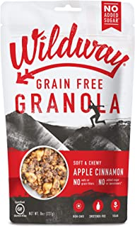 product image for Wildway Keto, Vegan Granola | Apple Cinnamon Granola | Certified Gluten Free Granola Breakfast Cereal, Low Carb Snack | Paleo, Grain Free, Non GMO, No Added Sugar | 8oz